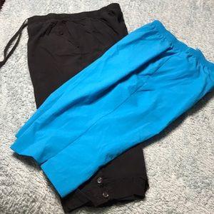 Pants - Two pair of capris xl